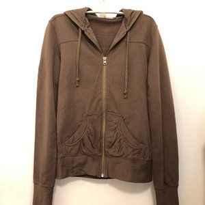 Mike & Chris Hoodie – Soft Brown Size M